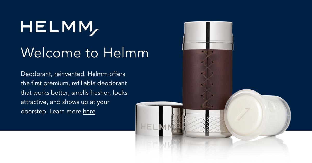 Helmm | Premium Deodorant  Delivered